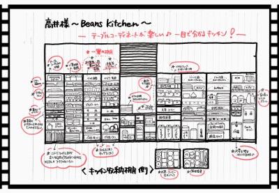 【ビフォーアフター】細かいものがほんとスッキリ♪~富田林 beans kitchen~