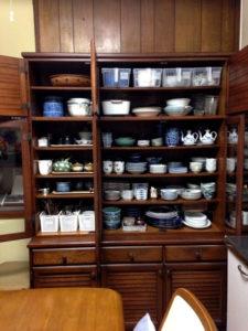 整理が完了した実家の食器棚