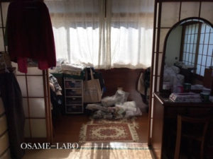 母の部屋(ビフォー)