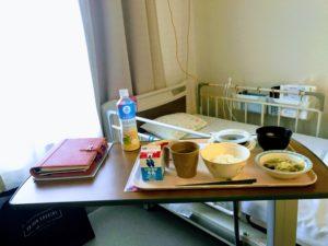 大部屋の入院生活スタート