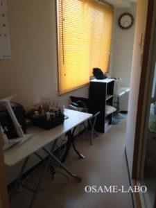 デザイナーズサロンの事務室