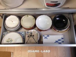 【実例⑤−1 】魅せる食器棚 ~持っている食器は全て使おう~