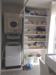 【実例③-2】新築!建築士デザインの家 ~洗面所&バス脱衣スペース編~
